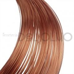 Alambre redondo cobre