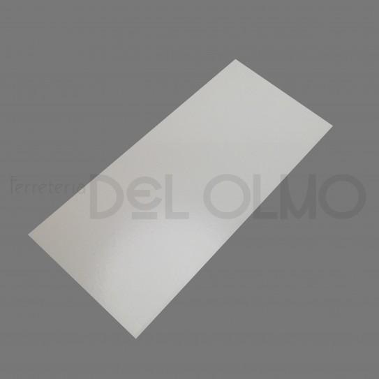 Chapa aluminio blanco