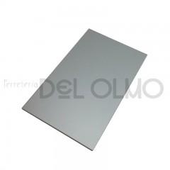 Chapa aluminio anodizado