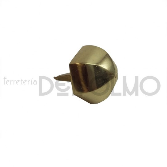 Clavo latón redondo-hexagonal