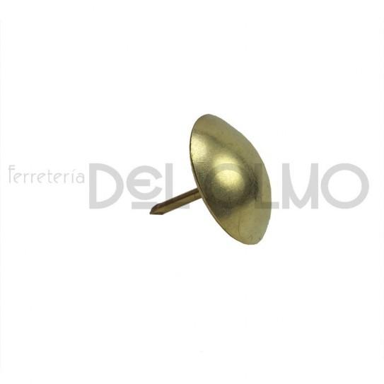 Tachuela hierro latonado redonda